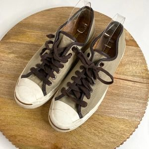 Converse Sneakers Khaki Oxford Canvas Old Silver